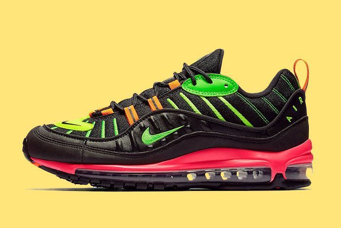 Nike Air Max 98 Neon Highlighter Ci2291 083 Release Date