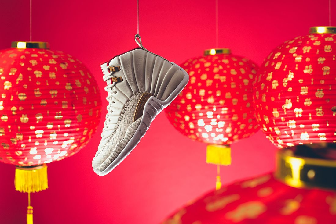 Air Jordan 12 Gs Chinese New Year4