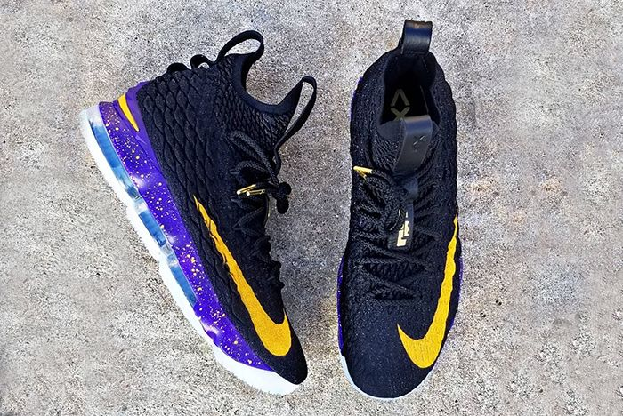 Nike Lebron 15 Lakers 1