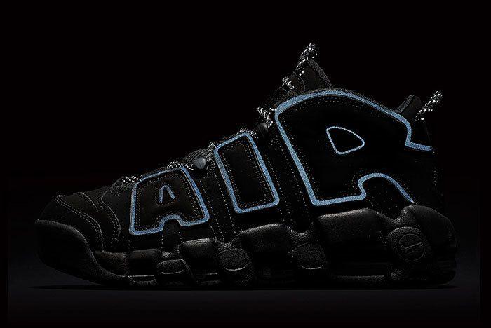 Nike Air More Uptempo Triple Black 6