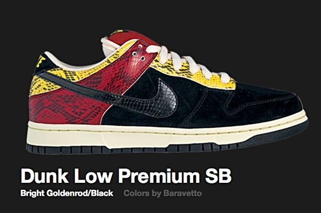 Nike Bright Goldenrod Dunk Low Sb 2007 1