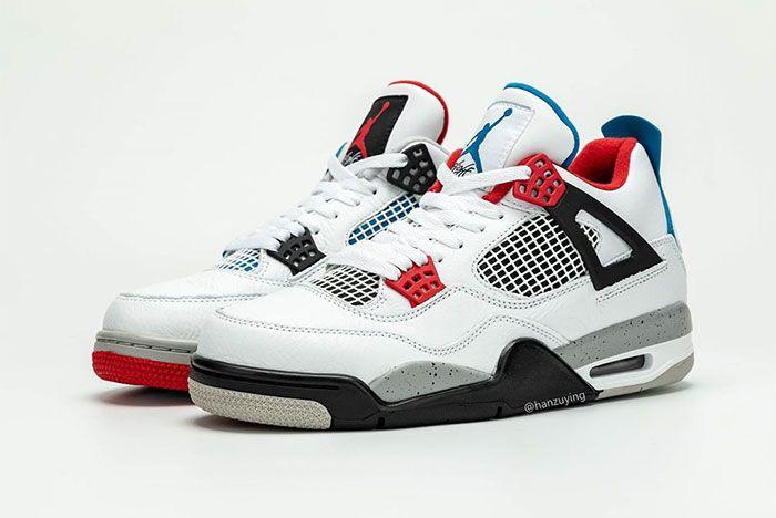 Air Jordan 4 What The Toe