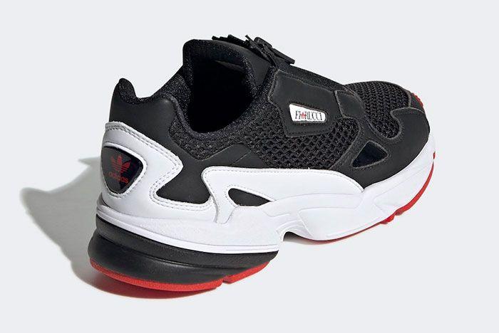 Fiorucci Adidas Falcon Zip Ef3644 Rear Angle