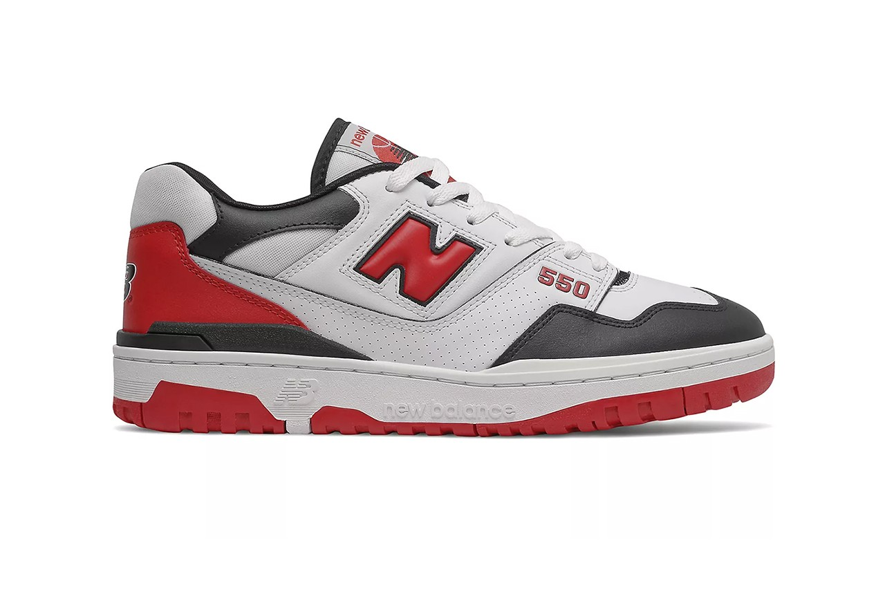 New Balance 550 Shifted Sport Red