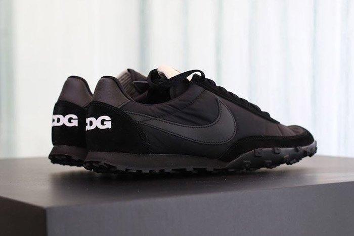 Comme Des Garcons Nike Waffleracer Black 1