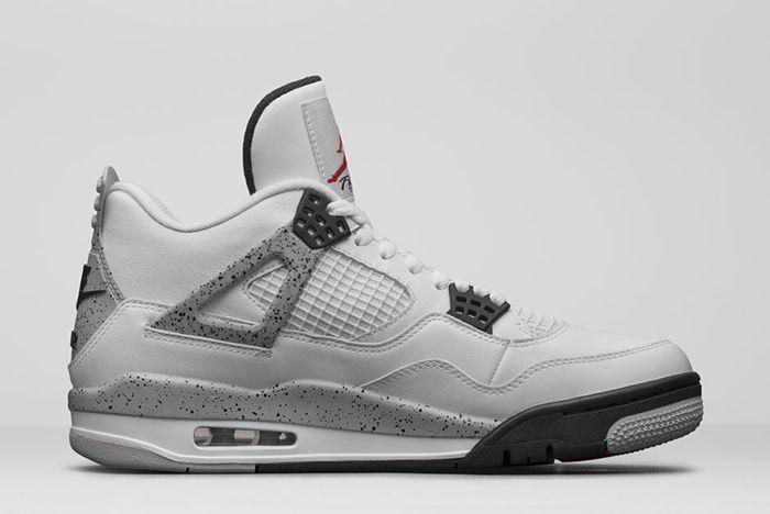 Air Jordan 4 White Cement10