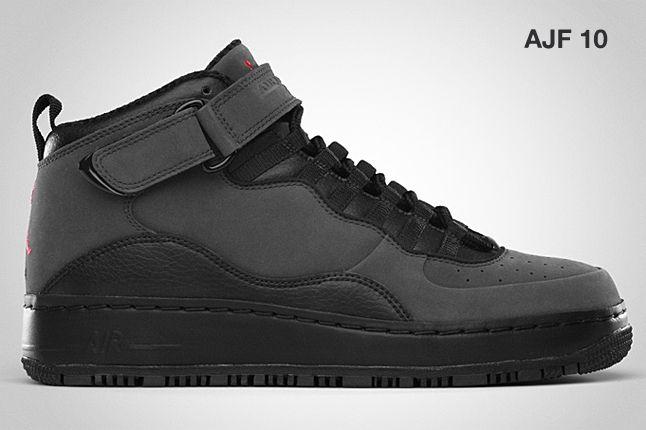 Jordan Ajf 10 Black 1