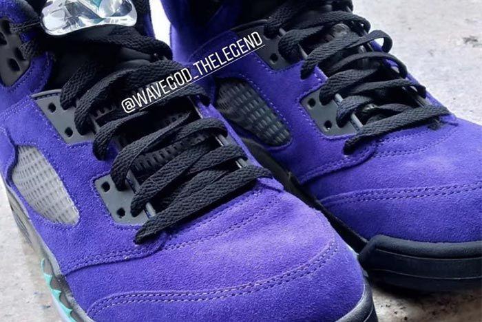 Air Jordan 5 Alternate Grape Insta