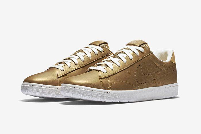 Nike Tennis Classic Ultra Wimbledon Gold 5