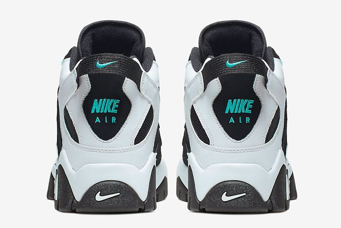 Nike Air Barrage Mid Black White Cabana At7847 001 Release Date 5 Heel