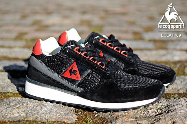 Le Coq Sportif Eclat Black 1