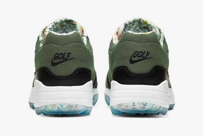 Nike Air Max 1 Golf Cargo Khaki Heels