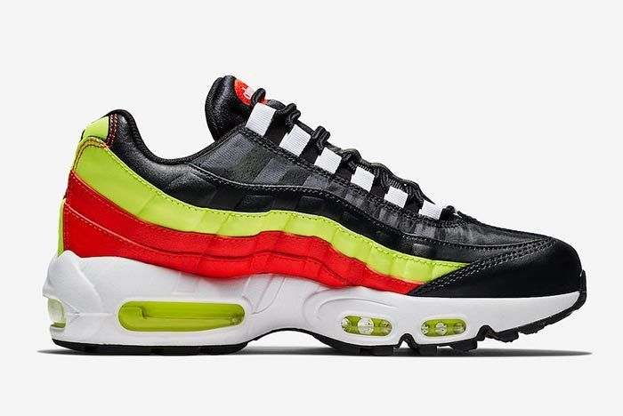 Nike Air Max 95 Black Neon Red 307960 019 6