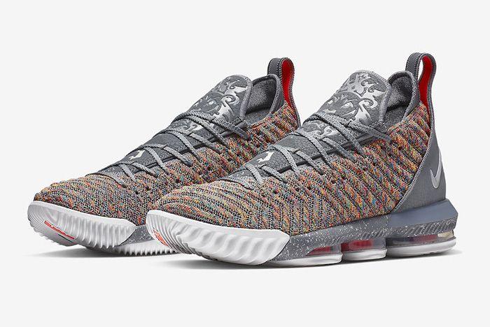 Nike Lebron 16 Multicolour 1