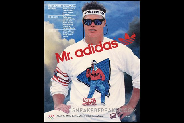 1988 Adidas Apparel Mr Adidas 2