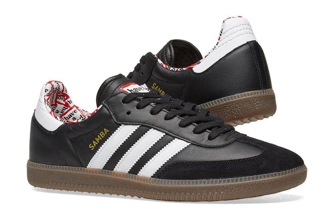 Adidas Samba Have A Good Time Black Pair