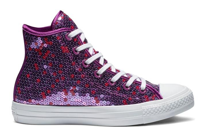 Converse Chuck Taylor All Star Sequin Violet 2