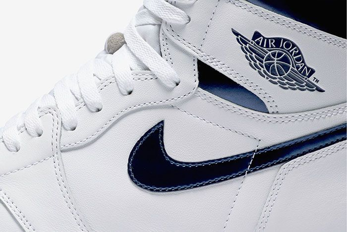 Air Jordan High Retro Metallic Navy 3