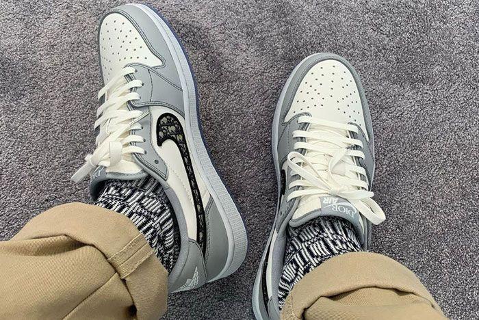 Dior Air Jordan 1 Low Top