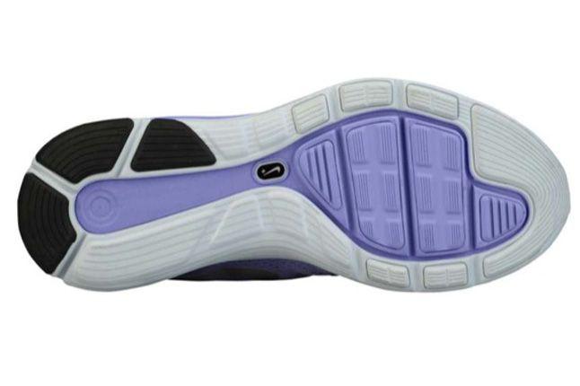Nike Lunarglide 4 Medium Violet Sole 1