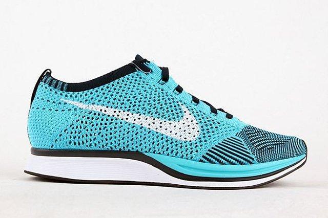 Nike Flyknit Racer Turquoise 1