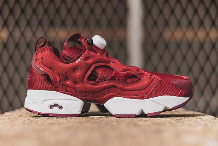Rrebok Insta Pump Fury Speckled Pack Red