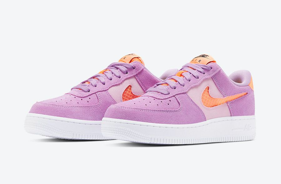 Nike Air Force 1 Violet Star Angled
