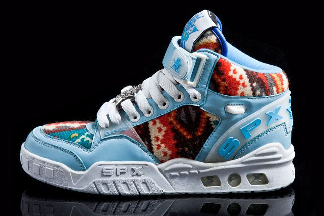 Spx Street Kicks Mid Blue Pattern 1