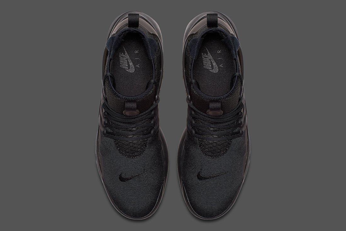 Nike Air Presto Mid Utility Triple Black 4