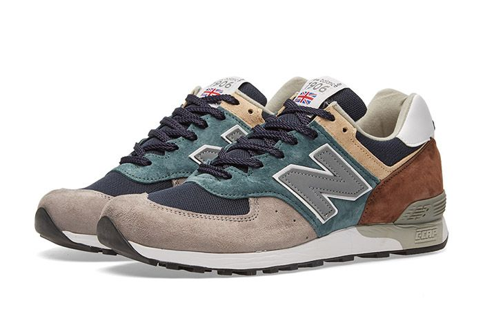 New Balance Made In England Surplus Pack Grey Teal 576 4
