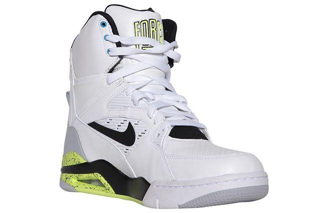 Nike Air Command Force White Grey Volt Black 1