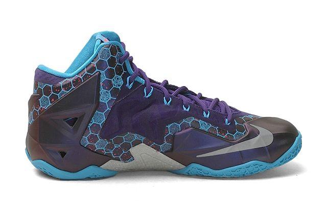 Nike Lebron 11 Xdr Summit Lake Hornets 3