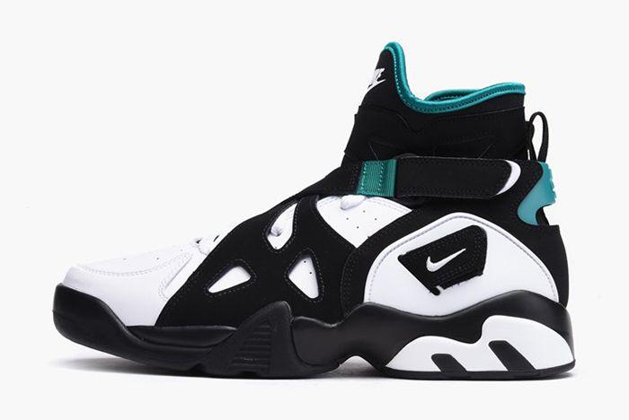 Nike Air Unlimited Og White Black Emerald12