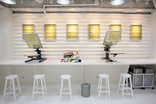 Nike Air Force 1 Xxx Anniversary The Pivot Point Pop Up Shop Tokyo Screenprinters 1