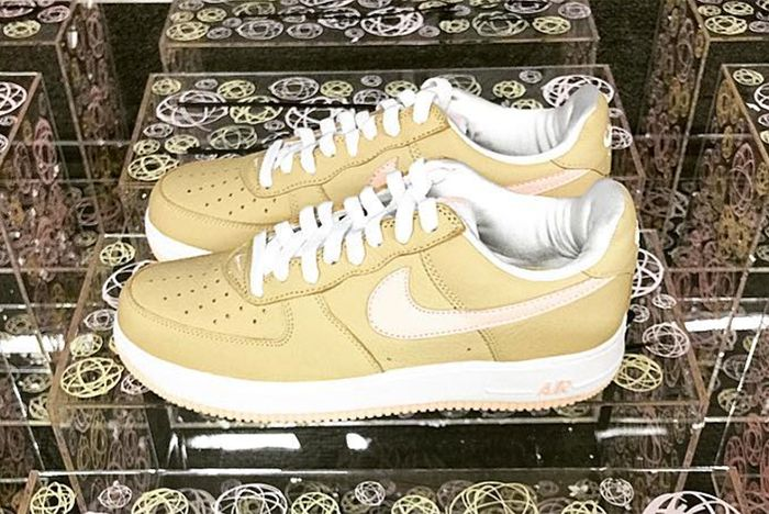 Nike Air Force 1 Linen To Return As Kith Exclusive In Colab With Futurafeature
