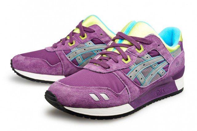 Asics Gel Lyte Purple Pair 1 640X4261
