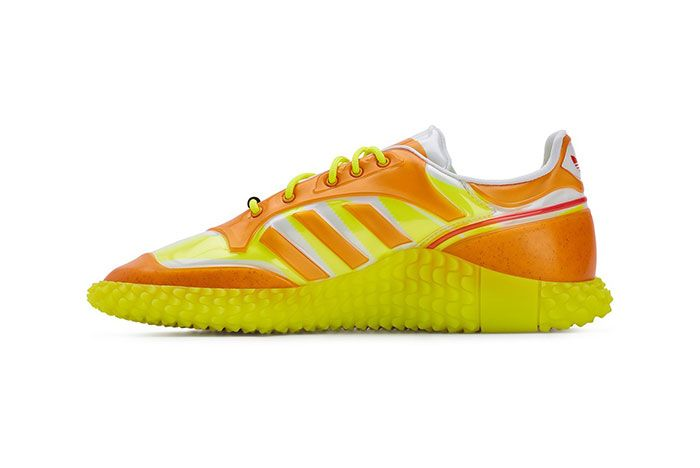 Craig Green Adidas Kamanda Dover Street Market Orange Medial Side Shot