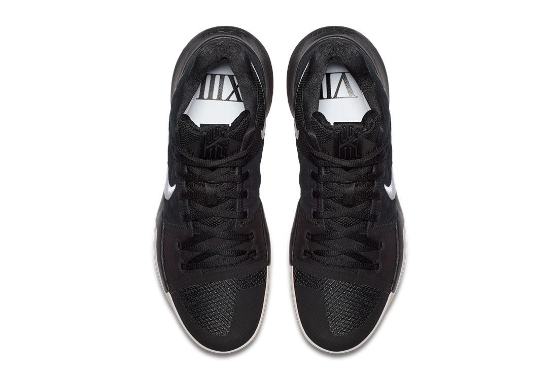 Nike Kyrie 3 Blackwhite 4