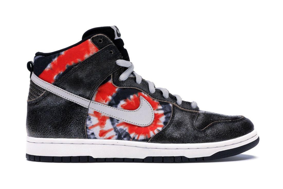 Huf Nike Sb Dunk High Tie Dye 305050 102 Lateral