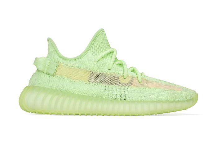 The adidas Yeezy BOOST 350 V2 'Glow