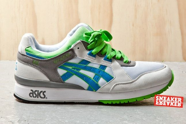 Asics Gt Cool Green White Blue 1 Profile 1