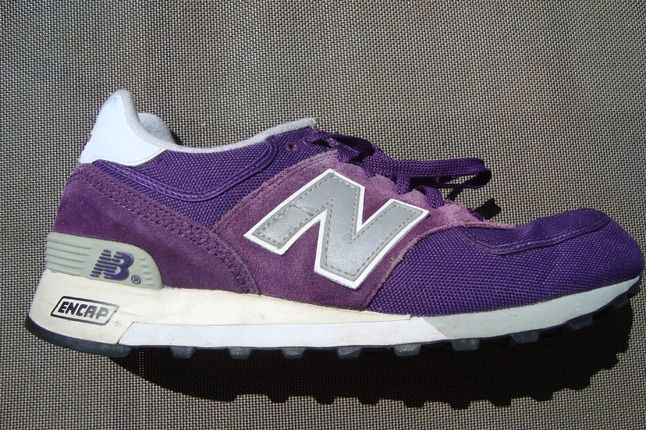 New Balance Canvas Purple 1