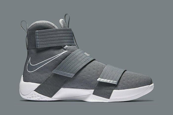 Nikelebron Soldier 10 Cool Grey 6