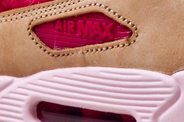 Nike Air Max 90 Womens Floral Tan Detail 2 1