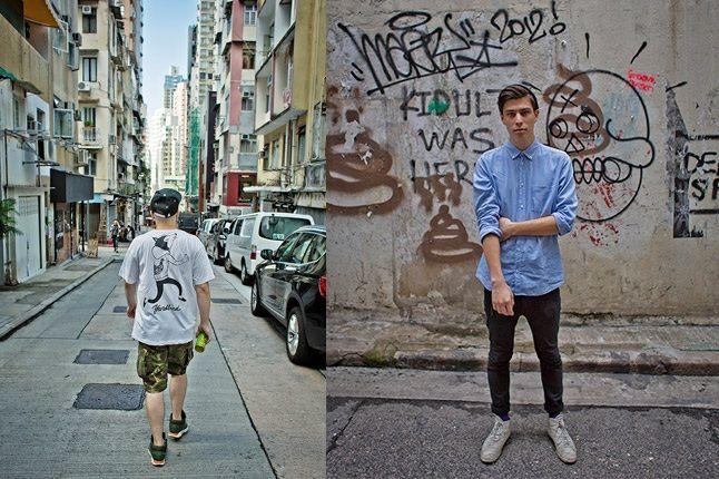 Hong Kong Sneaker Snaps Street Portrait 1