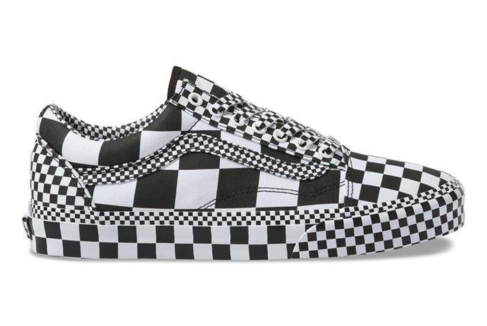 Vans Old Skool All Over Checkerboard Right Side View