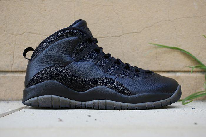 Drake X Air Jordan 10 Ovo Black Stingray5