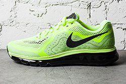 Nike Air Max 2014 Black Barely Volt Thumb