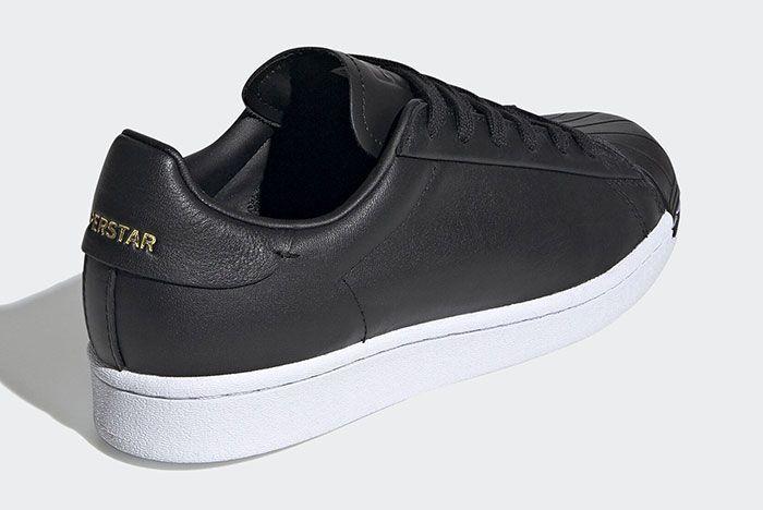 Adidas Stan Smith Black Fv3353 Three Quarter Lateral Heel Shot