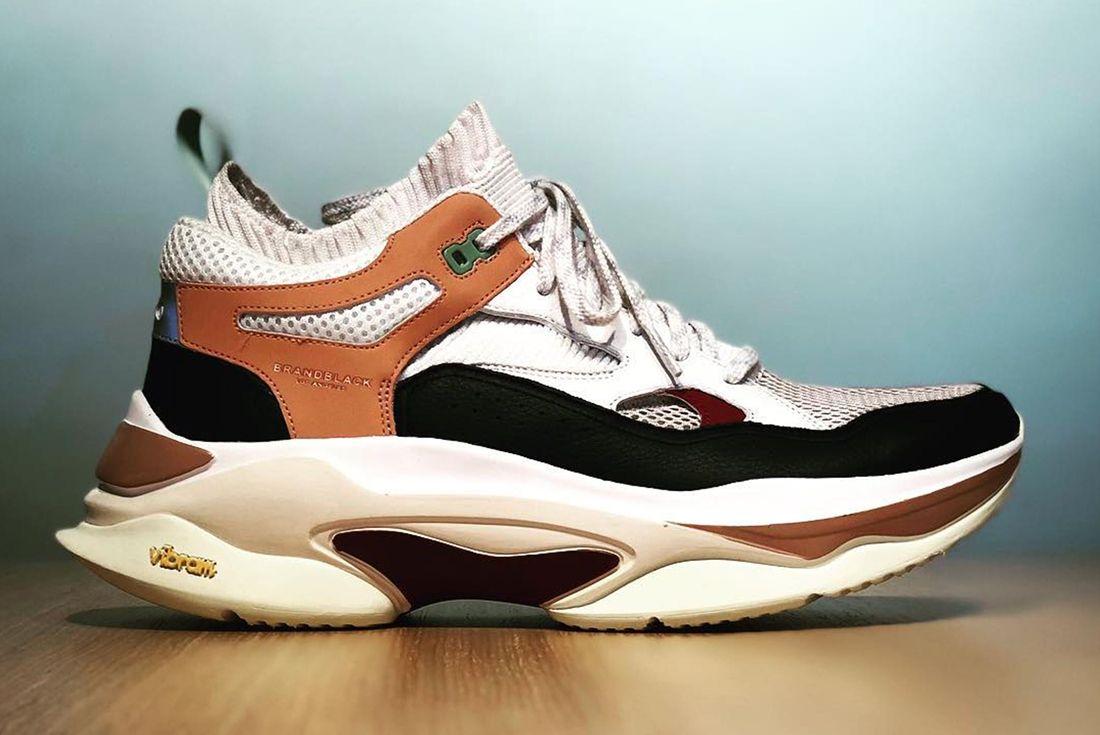 Brand Black Aura Ii Sneaker Freaker 2
